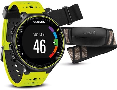 Garmin Forerunner 230 GPS Fitness Watch With Premium Soft-Strap HRM