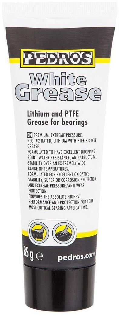 Pedros White Grease 85g | Rengøring og smøremidler
