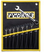 Pedros Ratch Combo Wrench Set - 8 Piece
