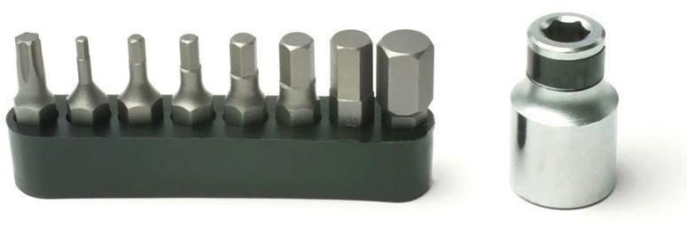 Pedros Torque Wrench Bit Set | Værktøj