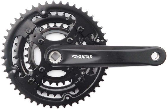 SR Suntour CW-XCC-T208-PB 28/38/48T Chainset