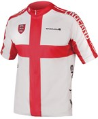 Product image for Endura CoolMax Printed England Short Sleeve Jersey