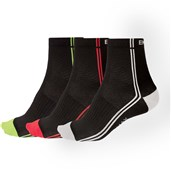 Endura Coolmax Stripe II Sock - Triple Pack