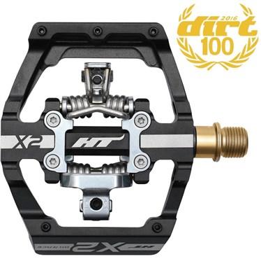 HT Components X2T MTB Pedals With Titanium Axles