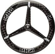Pro Carbon Textreme 3-Spoke Front Tubular TT Wheel