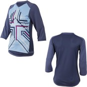 Product image for Pearl Izumi Womens Launch 3/4 Sleeve Cycling Jersey SS16