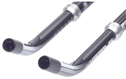 Pro Missile Curved Carbon Time Trial Bar Extensions