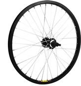 "Product image for M Wheel 20"" Alloy Multi Freewheel 135mm Rear Wheel"