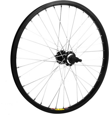 """M Wheel 20"""" Alloy Multi Freewheel 135mm Rear Wheel"""