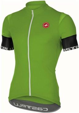 Castelli Entrata 2 FZ Short Sleeve Jersey