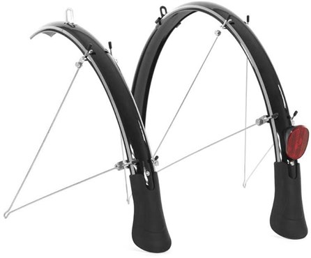 Raleigh Elements Flare Full Length Mudguard Set