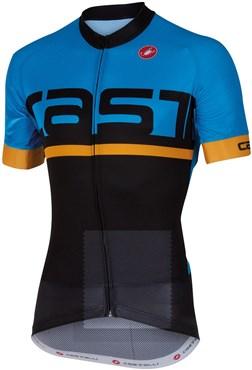 Castelli Meta FZ Short Sleeve Cycling Jersey With Full Zip SS16