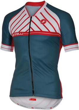 Castelli Scotta FZ Short Sleeve Cycling Jersey With Full Zip SS16