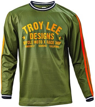Troy Lee Designs Super Retro Long Sleeve MTB Cycling Jersey SS16 ... 09dfb2965