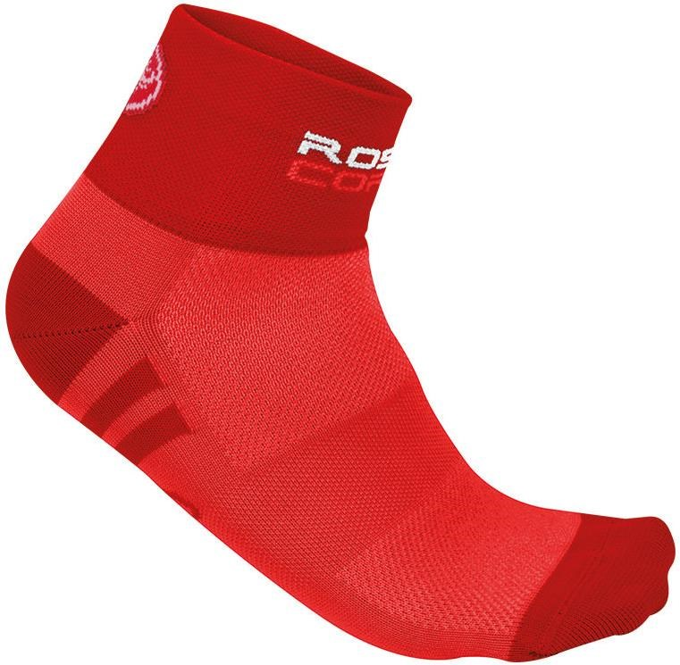 Castelli Rosa Corsa Womens Cycling Socks