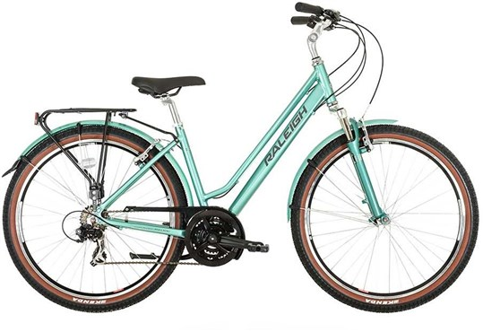 "Raleigh Pioneer Trail Womens 27.5"" 2019 - Hybrid Classic Bike"