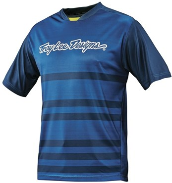 b661acab9 Troy Lee Designs Skyline Divided Youth Short Sleeve MTB Cycling Jersey SS16