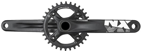 SRAM NX 1x X-Sync GXP Crankset (GXP Cups Not Included)