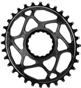 Product image for absoluteBLACK RaceFace Cinch Direct Mount Oval Chainring - 6mm Offset