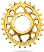 absoluteBLACK RaceFace Cinch Direct Mount Oval Chainring - 6mm Offset