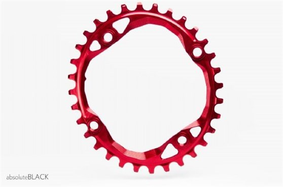 absoluteBLACK 104BCD Spider Mount Oval Chainring N/W
