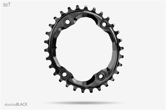 absoluteBLACK XTR M9000 Assymetrical Oval Chainring N/W