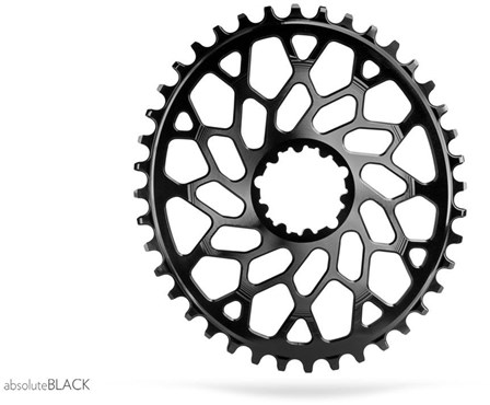 absoluteBLACK Sram CX Direct Mount GXP & BB30 Cyclocross Oval Chainring