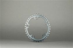 absoluteBLACK 110BCD Spider Mount Aero Oval Winter Inner Chainring