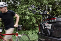 Saris Bike Porter 3 Bike Boot / Trunk Car Rack - 3 Bikes