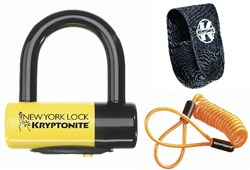 Product image for Kryptonite New York Liberty Disc Lock With Reminder Cable