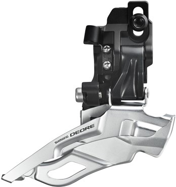 Shimano FD-M611 Deore 10spd Triple Front Derailleur, Top-pull Direct-fit