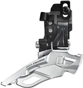 Product image for Shimano FD-M611 Deore 10spd Triple Front Derailleur, Top-pull Direct-fit