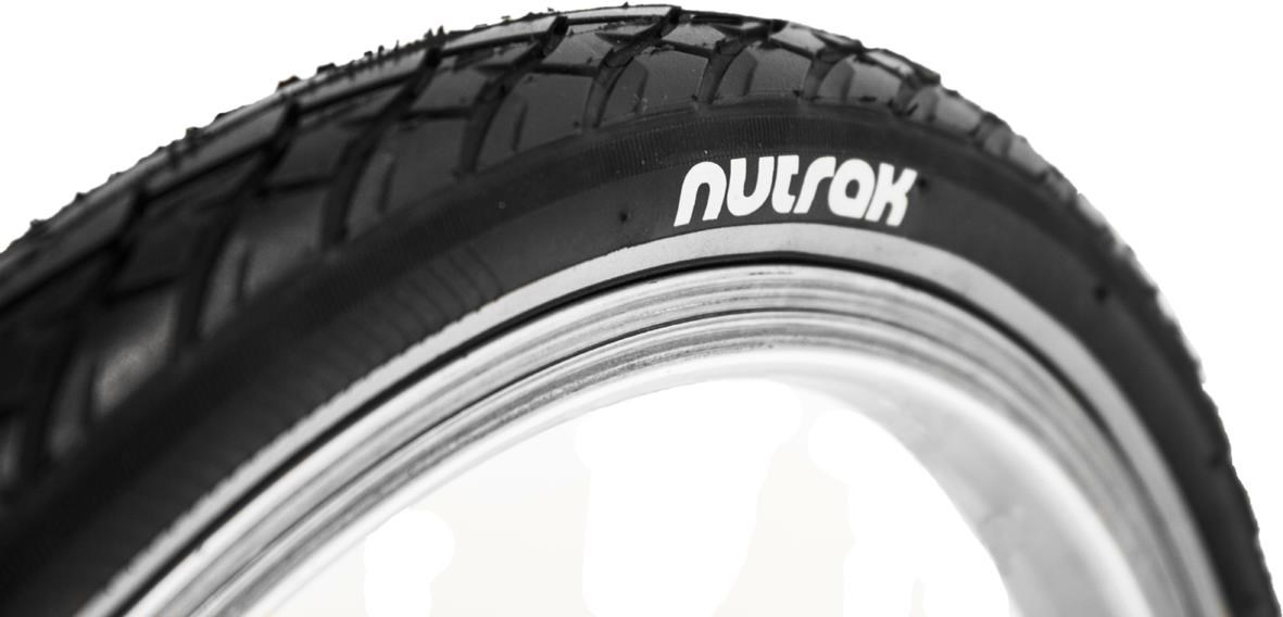 Nutrak Siped Street 16 inch 1 3/8 Reflective Tyre with Puncture Breaker | Tyres