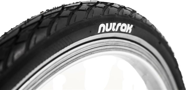 Nutrak Siped Street 16 inch 1 3/8 Reflective Tyre with Puncture Breaker