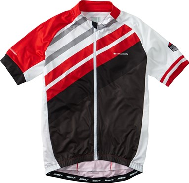 Madison Sportive Full Zip Short Sleeve Jersey