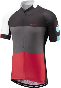 Madison Sportive Half-Zip Short Sleeve Jersey