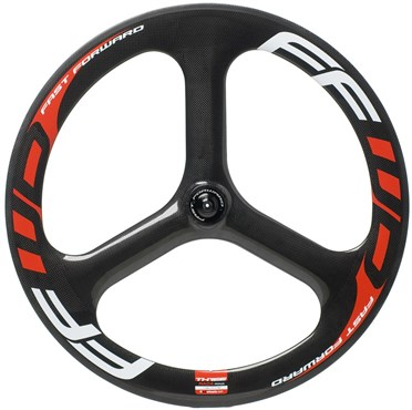 Fast Forward 3 Spoke Tubular Front Wheel