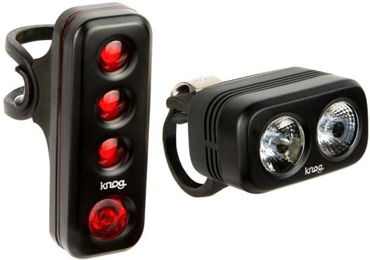 Knog Blinder Road 250 Twinpack USB Rechargeable Light Set