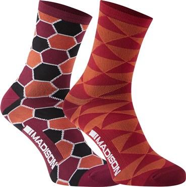 Madison Sportive Race Womens Long Socks AW17 - Pack of 2