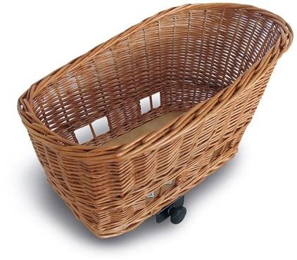 Basil Pasja Rear Wicker Pet Basket