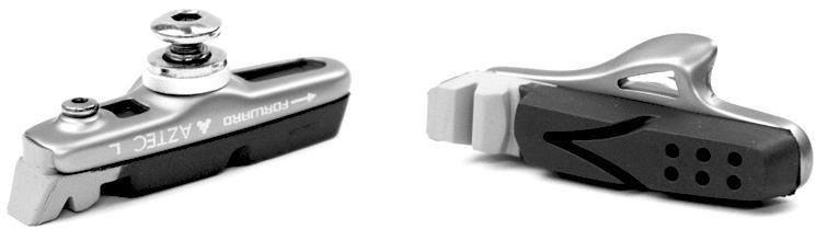 Aztec Road System Kevlar Brake Blocks With Rim Rake | Brake pads