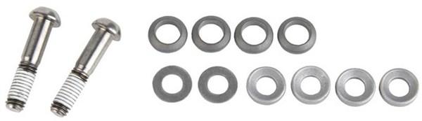 Avid Caliper Mounting Hardware - Titanium T25 - (Inc. Caliper Mounting Bolts & Washers, Standard)