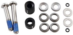 Product image for Avid Post Spacer Set - 20 S (Front 180/Rear 160), Inc. Stainless Caliper Mounting Bolts (CPS & Standard)