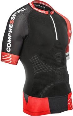 Compressport Pro Racing Trail Short Sleeve Running Jersey V2
