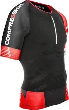 Compressport Pro Racing Triathlon TR3 Aero Short Sleeve Jersey | Trøjer