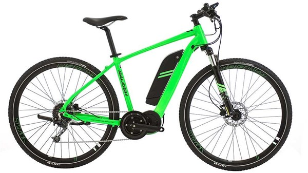 Raleigh Strada Crossbar TSE 9 Speed 700c 2018 - Electric Hybrid Bike