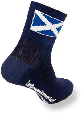 SockGuy Scottish Flag Blue Socks | Strømper