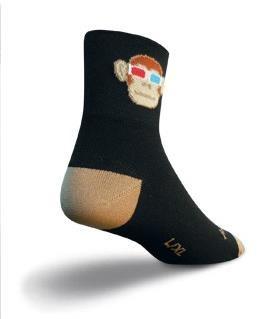 SockGuy Monkey See 3D Socks | Strømper