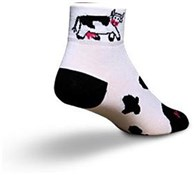 SockGuy Cow Womens Socks