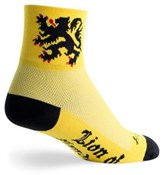 Product image for SockGuy Lion of Flanders Socks